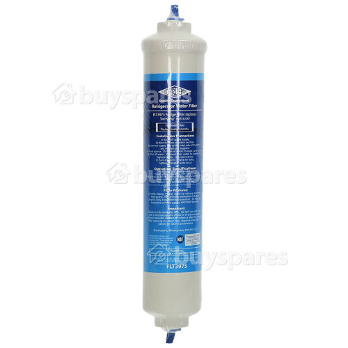 BWT Fridge External Water Filter Cartridge : Compatible With HAFEX/EXP, DD7098, DA2010CB, BL-9808, USC100, WSF100, WF001.