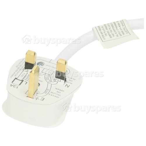 Rallonge Câble Électrique 5M À 4 Prises - Sans Interrupteur - Prise Anglaise - Lyvia