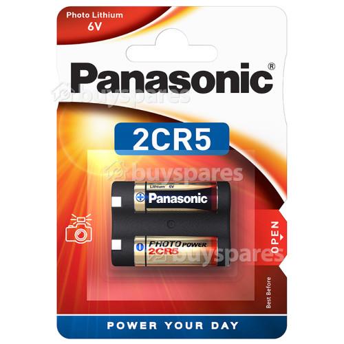 Panasonic 2CR5M Photo Lithium Batteries