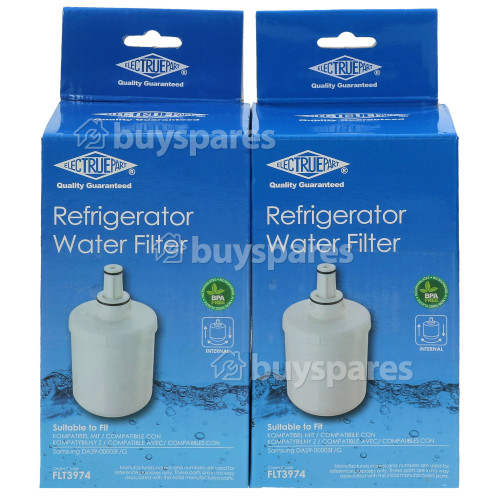 BWT Internal Water Filter Cartridge, Pack Of 2 : Compatible With HAFIN2/EXP, DA29-00003G, DA97-06317A, RS21JLBG, TS48WLUS, WF008K