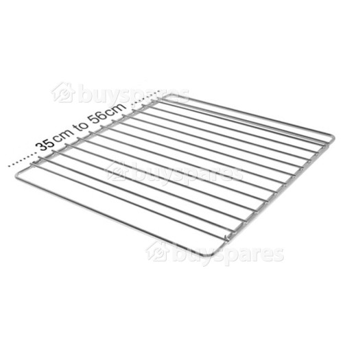 Home Care Adjustable Oven Shelf (350mm To 560mm Wide ( 320mm Depth )