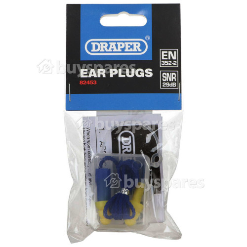 Draper Draper EP1/B 29Db Safety Ear Plugs