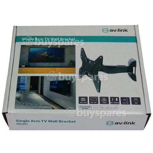 "26"" - 42"" Full Motion Single Arm TV Wall Bracket"