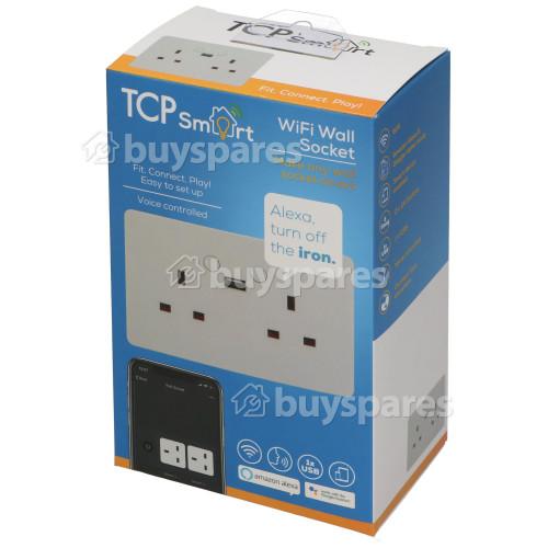 TCP Smart WiFi 2 Gang Wall Socket