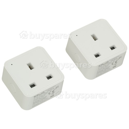 TCP Smart WiFi Single Plug Socket (Twin Pack)