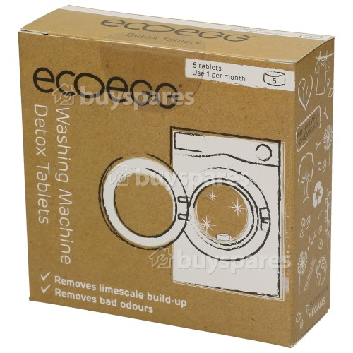 Ecoegg Washing Machine Detox (Limescale Remover) Tablets - Pack Of 6