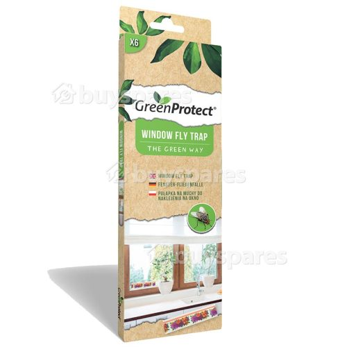 Green Protect Window Fly Killer Trap (Pack Of 6) (pest Control)