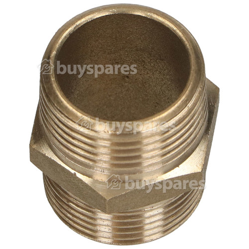 """Brass Hose Connector 3/4""""X 3/4"""" Threaded : Connector For Inlet Hoses"""