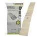 D'origine Karcher Lot Sacs Papier Et Filtres Aspirateur (Paquet De 10)