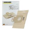 Sacs À Poussière En Papier Et Micro Filtre (Paquet De 5) Karcher