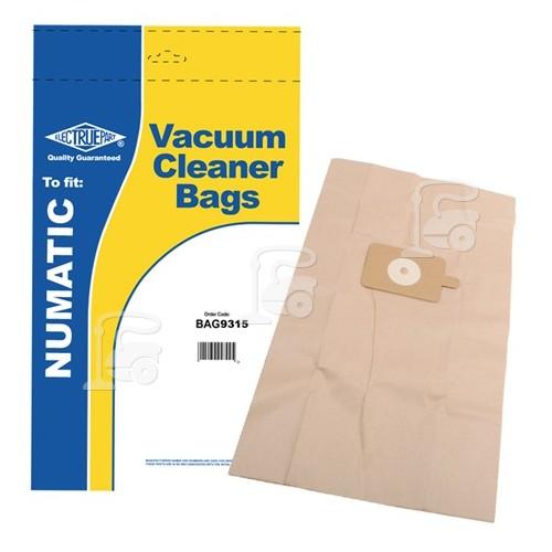 Numatic Compatible NVM-3BH Paper Dust Bag (Pack Of 5) - BAG9315