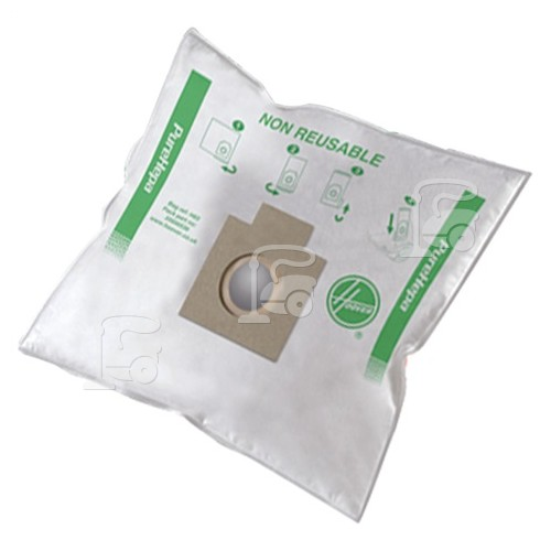 Hoover H63 Pure Hepa Filtration Bags (Box Of 4)