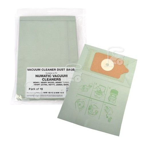 NVM-1CH Paper Dust Bag (Pack Of 10)