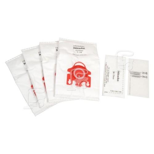 Sacs Aspirateur Et Pack Filtre Fjm HyClean 3D Efficiency (Boîte De 4) Miele