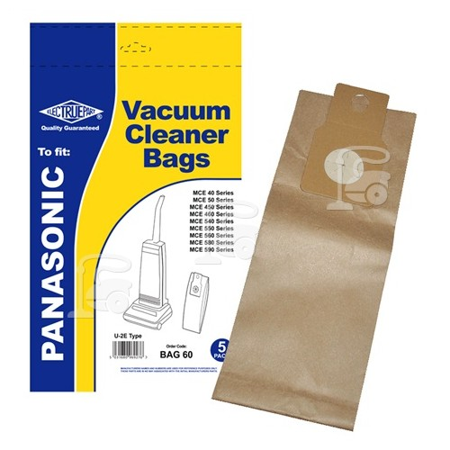 Panasonic MC-UG304 U20E Vacuum Dust Bag (Pack Of 5) - BAG60