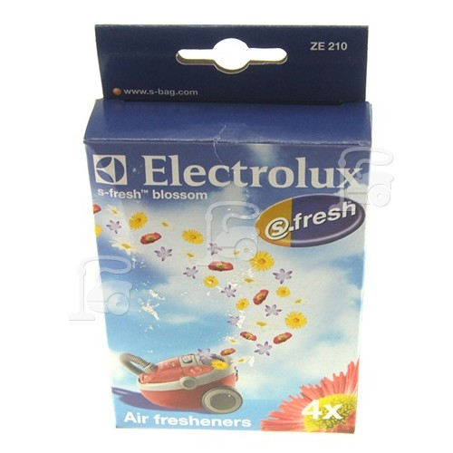 Electrolux ZE210 Vacuum Cleaner S-fresh Blossom Air Freshener (Pack Of 4)