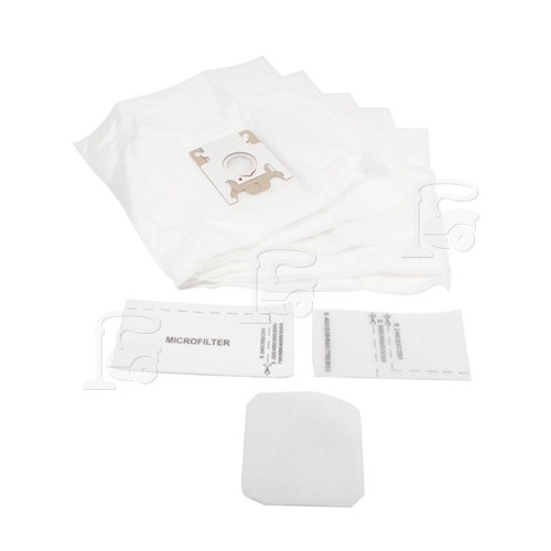 G/N Filter-Flo Synthetic Dust Bags (Pack Of 5 With 1 Filter Kit) - BAG248