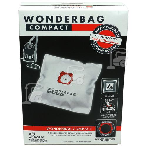 Russell Hobbs 17972 / Rowenta / Moulinex : Wonderbag : Compact Power, Accessimo, Ambia, Boogy, Booly, Compacteo, Dymbo, Gimini,Neo,Principio, Soam, Zelio
