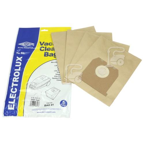 Sac Aspirateur E10 & E42 (Paquet De 5) Rowenta