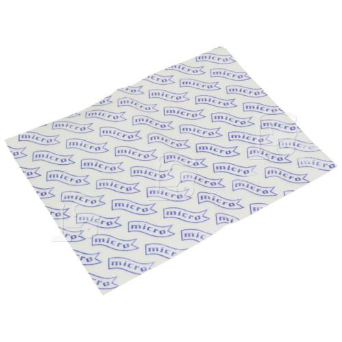 Hoover Universal Staubsauger-Mikrofilter : 255x205mm (zuschneidbar)