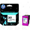 Original Hewlett Packard Cartucho De Tinta Original No.301 Tricolor (CH562EE)