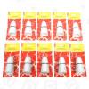 Portalampada Avvitabile Resistente Al Calore 1,27cm (scatola Da 10) Wellco