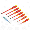 Lot De 7 Tournevis VDE Rolson