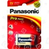 Panasonic Batteria Alcalina 9V Pro Power