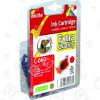Cartuccia Compatibile Canon BCI-6R Rosso Inkrite