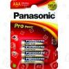 Panasonic Batterie Alcaline Pro Power AAA