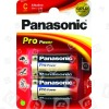 Panasonic Batterie Alcaline C Pro Power