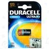 Duracell Batteria CR123A Ultra Alcalina