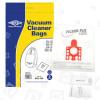 FJM Sacchetto Per La Polvere (confezione Da 5 Con 2 Filtri Di Dimensioni Regolabili Su Misura ) - BAG306