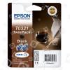 Cartuccia D´inchiostro T0321 Originale Nero-pacco Doppio Epson