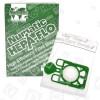 Numatic Sacchetti Per La Polvere Con Filtro Hepa A 3 Strati (pacco Da 10)- NVM-1CH