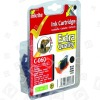 Cartuccia D´inchiostro Nero Compatibile Con Canon BCI-6BK Inkrite