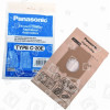 Panasonic C-20E Papier-Staubsaugerbeutel (5er Pack)