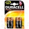Duracell AA Alkali-Batterien (4er Pack) Einzelpackung