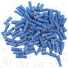 Rundverbindungsbuchse Blau Isoliert 36-100