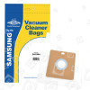 Hit Company VC Filter-Flo Synthetische Staubsaugerbeutel (5er-Pack) - BAG284