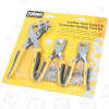 Rolson 3 Piece Punch & Eyelet Pliers