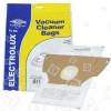 Electrolux ES49 Filter-Flo Synthetische Staubsaugerbeutel (5er Pack) - BAG349