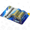 Panasonic Batterie Alcaline C Evolta