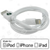 Cable Cargador 1.0 Metro - Blanco iPad Apple