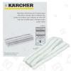 Original Karcher Paño De Microfibra Para Limpiador De Ventana Wv 50 (Pack De 2)