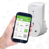 G-Homa G-Homa Die Smarte Wifi Steckdose Mit App Steuerung Für IOS Und Android, Weiß - GB Stecker