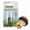 Karcher Messing Hahnanschluss G3/4 Mit G1/2-Reduzierung