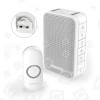 Kit Campanello Con Spina Live Well Series 3 - Bianco Honeywell