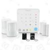 Pack Alarme Sans Fil Pour Appartement Avec Commande Intelligente Live Well Honeywell