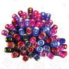 Guirlande De Noël De 100 Lumières Led Multicolore Minuterie- A Piles - The Christmas Workshop